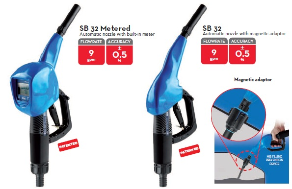Automatic Nozzle SB32 with Meter