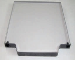 """OPEN-SIGHT Vision BLANK FIXTURE PLATE-.5 Polycarbonate 6""""x6"""""""