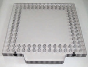 "OPEN-SIGHT Vision FIXTURE PLATE-.5 Polycarbonate 6""x8"""