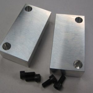 "2.5"" Rapid-Loc Vise with soft jaws, inch"