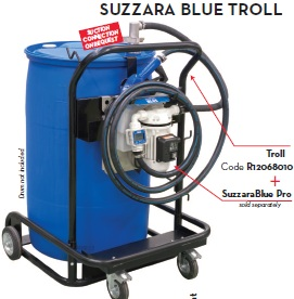 SUZZARA BLUE Troll Dispensing System