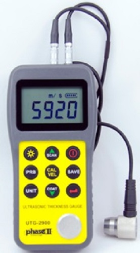 Ultrasonic Thickness gauge w/Thru Coating