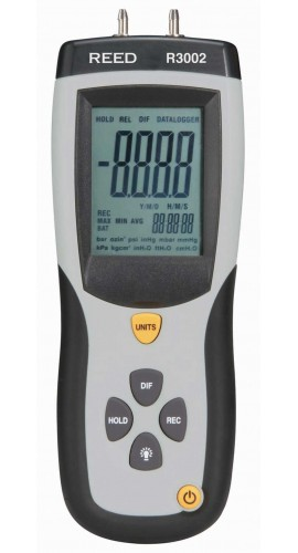 Reed R3002 0 to 5 psi Differential Pressure Manometer