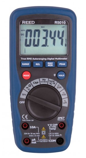 REED R5010 True RMS Digital Multimeter
