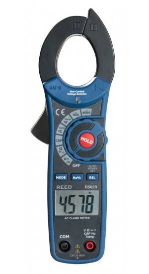REED R5020 400A AC Clamp Meter with NCV & NIST