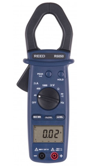 REED R5050 1000A True RMS AC/DC Clamp Meter & NIST