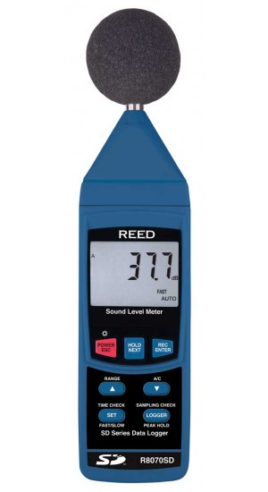 REED R8070SD Data Logging Sound Level Meter