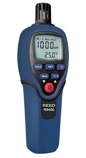 CARBON MONOXIDE METER WITH TEMP W/NIST CERT