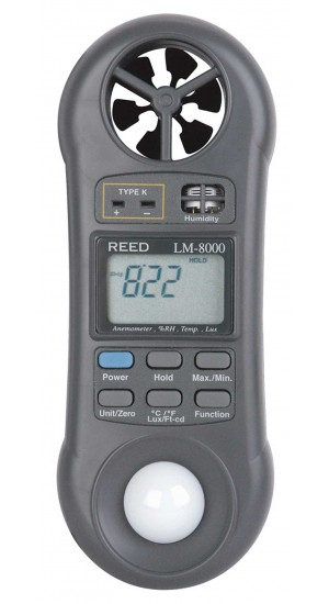 MULTIFUNCTION METER, 6-IN-1 W/NIST CERT