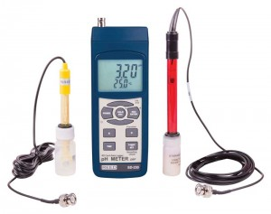 PH/ORP METER, DATA LOGGER KIT W/ PH & ORP PROBES