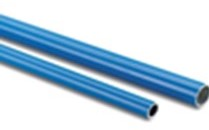 Aluminium Pipe Blue 5015D. 63xID59mm x 4m long  5 Pipe Pack