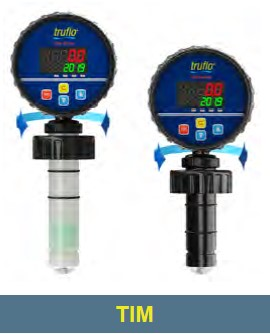 "1/2"" to 4"" Pipe TIM PVDF Flow Rate - Flow Total Pulse 