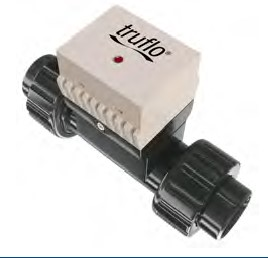 "1/2"" TKW Paddle Wheel Polypropylene Flow Meter with Blind DisplayTransmitter"