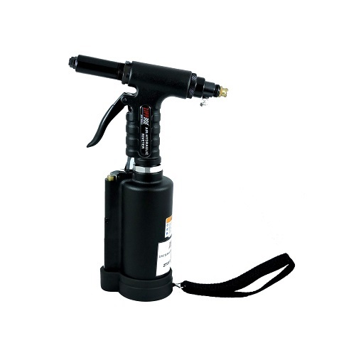 """Air Hydraulic Riveter 3/16"""" and 1/4"""" - Non Vacuum.  . Comes with 3/32"""", 1/8"""", 5/32"""" and 3/16"""" nose-pieces."""